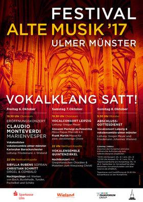 Bild: Festival Alte Musik | vokalklang satt!