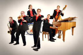 Bild: Jazztime Ansbach - Swingin' Fireballs Sextett