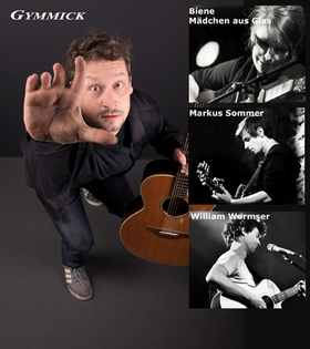 Bild: 9. Braunschweiger Liedermaching Festival - mit Gymmick, William Wormser, Markus Som