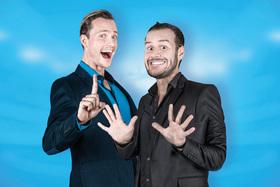 Bild: Rene & Schenk, eine Musik Comedy Show der anderen Art