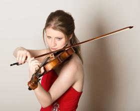 Bild: Lesung und Konzert: Katharina Hacker / Hendrik Jackson / Liv Migdal (Violine) & Eglé Staskuté (Klavier)