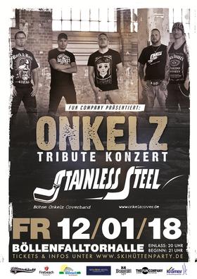 Bild: Onkelz Tribute Konzert Stainless Steel - Das Beste der Onkelz