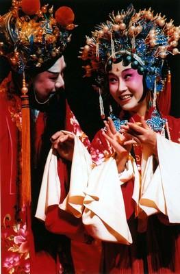 Bild: Chinesische Kun-Oper - Der Päonienpavillon