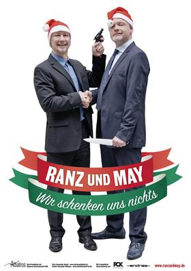 """Bild: Weihnachtskabarett 2017 mit Ranz & May - """"Wir schenken uns nichts!"""""""