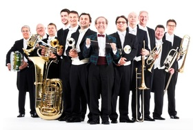 Bild: Ensemble Blechschaden mit BOB ROSS - Spass mit Brass – Tournee 2018