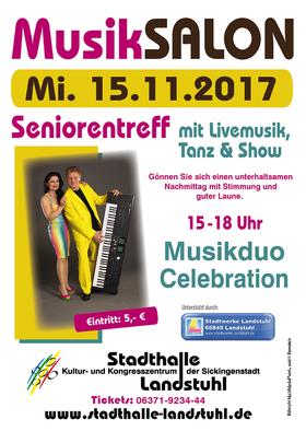 Bild: Musiksalon mit Musikduo Celebration - mit Livemusik zum tanzen