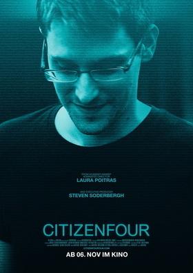 """Bild: Citizenfour - Eröffnungsveranstaltung der Traumfabrik Filmreihe """"Big Brother /Surveillance Cinema"""" mit Gästen& Podiumsdiskussion"""