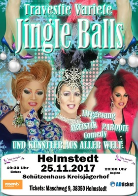 Bild: Travestie Weihnachtsvariete jingle Balls