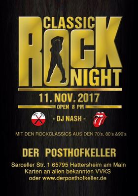 Bild: Classic Rock night mit DJ Nash