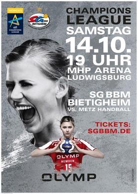 Bild: CL: SG BBM Bietigheim vs. Metz Handball