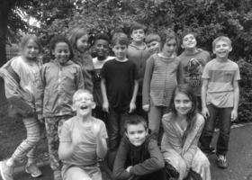 Bild: Buchstaben für ein Junges Literaturhaus - Ein knallbunter Nachmittag für Jung und Alt