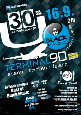 Bild: Ü30 Party (Black Flavour) - Ü30 Black Flavor
