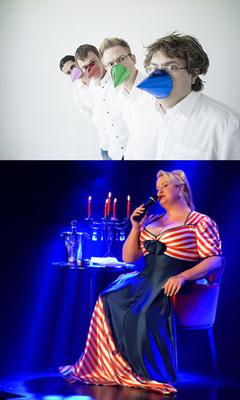 Nachgewürzt - Kabarettshow mit Liveband - zu Gast: Daphne de Luxe