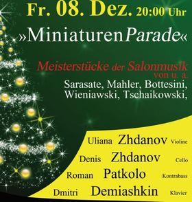 Bild: Konzertausstellung - Kammerkonzert mit einer Ausstellung