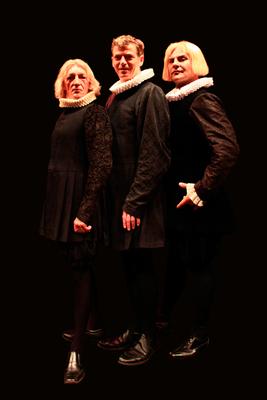 Bild: Shakespeares sämtliche Werke (leicht gekürzt) mit Rainer König, Carsten Linke und Tom Quaas