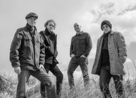 Bild: HARDPAN Live - Chris Burroughs, Terry Lee Hale, Joseph Parsons und Todd Thibaud