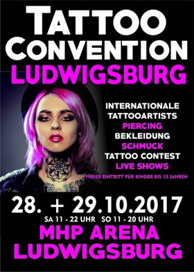 Bild: 1. Tattoo Convention Ludwigsburg