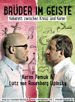 Bild: Brüder im Geiste - Kabarett zwischen Kreuz und Koran