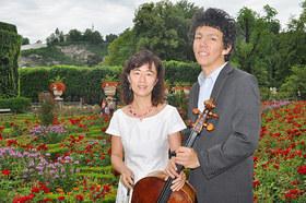 Bild: Yu-Ying & Helian Zehetmair Violoncello und Klavier