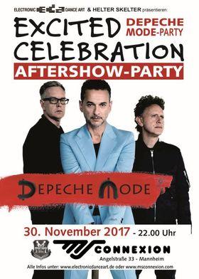 Bild: Excited Celebration & Depeche Mode After Show Party Mannheim