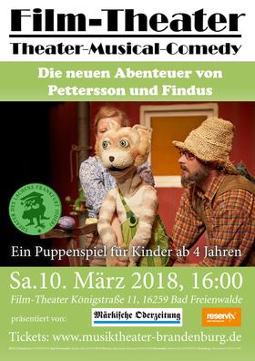 Bild: Die neuen Abenteuer von Pettersson und Findus - Gastspiel!