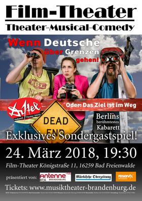 Bild: Wenn Deutsche über Grenzen gehen - Kabaretttheater DISTEL