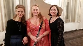 Bild: Titel: Classix im Coselpalais - Trio-abend: Sopran, Klarinette und Klavier