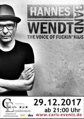 Bild: Hannes Wendt Band Live - THE VOICE OF FUCKIN`KIUS