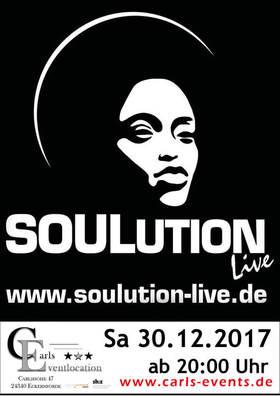 Bild: Soulution Live im Carls - Soulmusik live - Soul - Klassiker, frisch zubereitet!