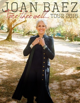 Bild: JOAN BAEZ - Fare Thee Well Tour 2018