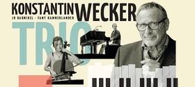 Bild: Konstantin Wecker Trio - Poesie und Musik mit Cello und Klavier  - 20 Jahre Musiktheater Rex