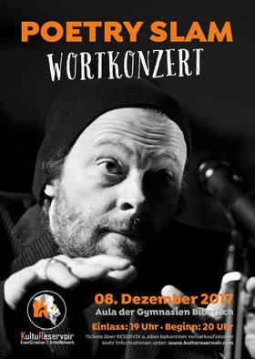 Bild: Wortkonzert No15 - Der Poetry Slam in Biberach - Das Weihnachts-Special in der Aula der Gymnasien