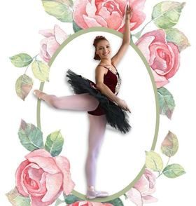 Bild: Dornröschen - Ein Märchenballett aufgeführt von den Schülerinnen der Ballettschule Freese-Baus