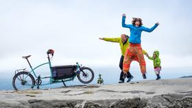 Auf Tour - Mit dem Lastenfahrrad durch Europa - Eine Film- und Fotoshow von laif-Fotograf André Schumacher