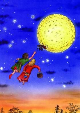 Bild: Wintermärchen - Peterchens Mondfahrt