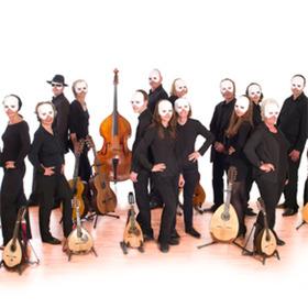 Bild: Öffentliche Generalprobe zum Jahreskonzert 2017 des Mandolinenorchesters Ettlingen - zur ausverkauften Italienischen Nacht