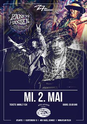 RANDY HANSEN - The Music of Jimi Hendrix
