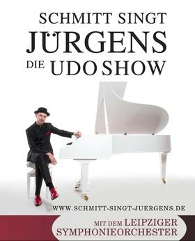 Bild: Schmitt singt Jürgens - Die Udo Show - mit dem Leipziger Symphonie-Orchester