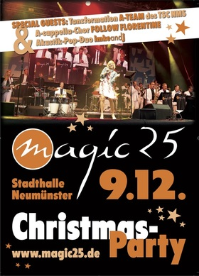 Bild: Christmas-Party mit Magic25 - Magic25-XXL-Bigband und Special Guests