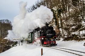 Bild: Winterfahrt nach Kurort Kipsdorf
