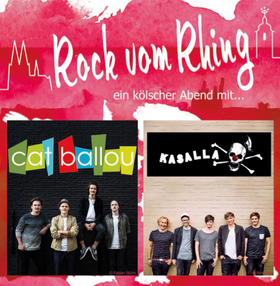 Bild: Rock vom Rhing - Cat Ballou und Kasalla