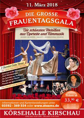 Bild: Die schönsten Melodien aus Operette und Filmmusik - Die große Gala zum Frauentag 2018