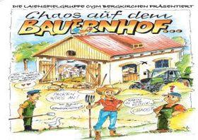 Bild: Chaos auf dem Bauernhof