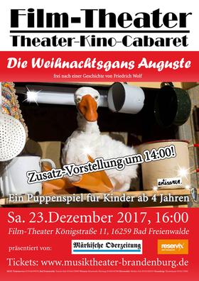 Bild: Die Weihnachtsgans Auguste - Zusatzvorstellung!
