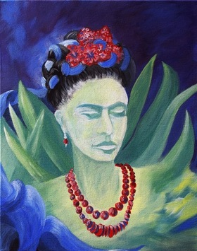 Bild: Artmasters - PAINT LIKE - PaintParty - Frida Kahlo goes Jungle