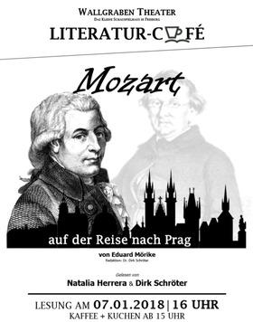 Bild: Literatur-Café: MOZART AUF DER REISE NACH PRAG von Eduard Mörike