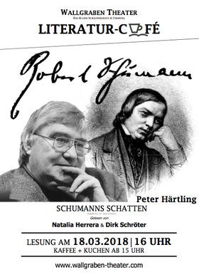 Bild: Literatur-Café: SCHUMANNS SCHATTEN von Peter Härtling