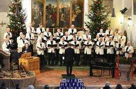 Bild: Polizeichor Nürnberg Vorweihnachtliche Konzerte - Weihnachtskonzert Männcerchor des Polizeichores Nürnberg