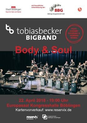 Bild: Tobias Becker BIGBAND - Mit BODY & SOUL feat. Cherry Gehring und Verena Nübel