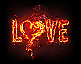 Bild: Burning Love - von Fitzgerald Kusz
